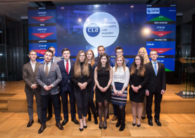 IV edycja Corporate Law Academy 71